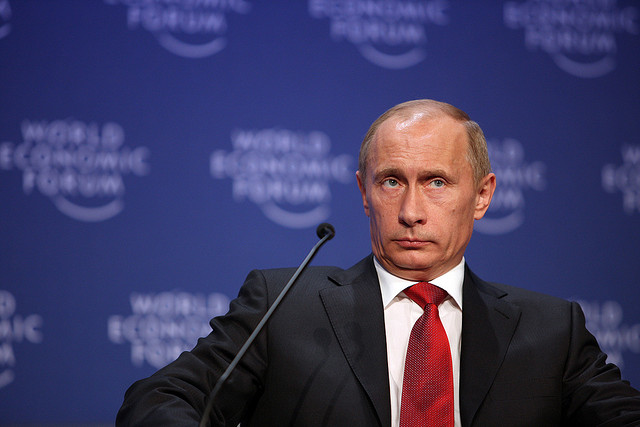 Wladimir Putin, Foto: CC NC-SA 2.0, Flickr. World Economic Forum